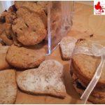 Biscotti integrali ricotta e frutti rossi