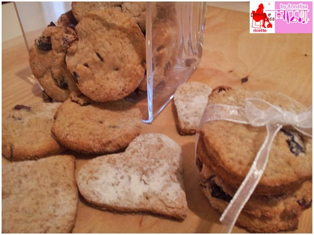 biscotti integrali ricotta frutti rossi