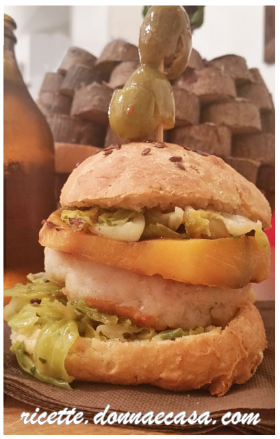 fish burger home made foto2