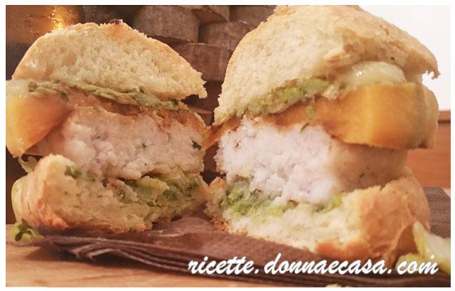 fish burger home made foto 3