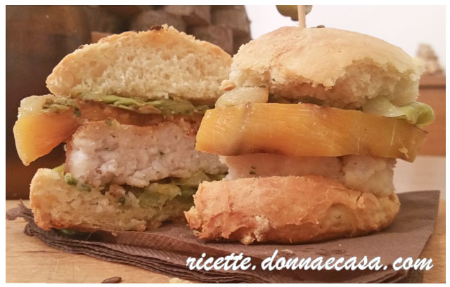 fish burger home made foto 4