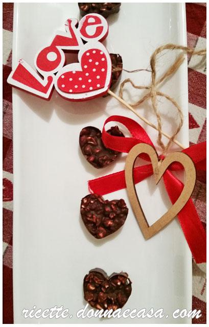 grano saraceno soffiato con cioccolato