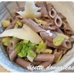 Penne di grano saraceno gluten free con verza e patate