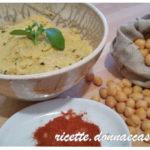 Hummus di ceci – vegan recipe