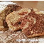 Plumcake variegato all'acqua – vegan recipe