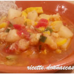 Zuppa di zucchina gialla