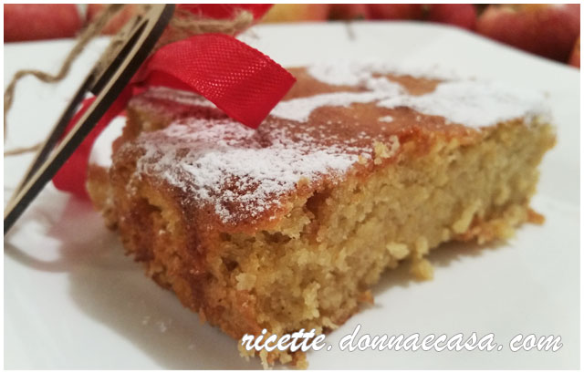 torta di mele mandorle senza glutine