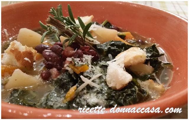 minestra di cavolo nero