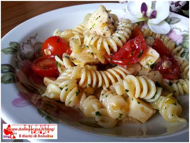 pasta salad with celery