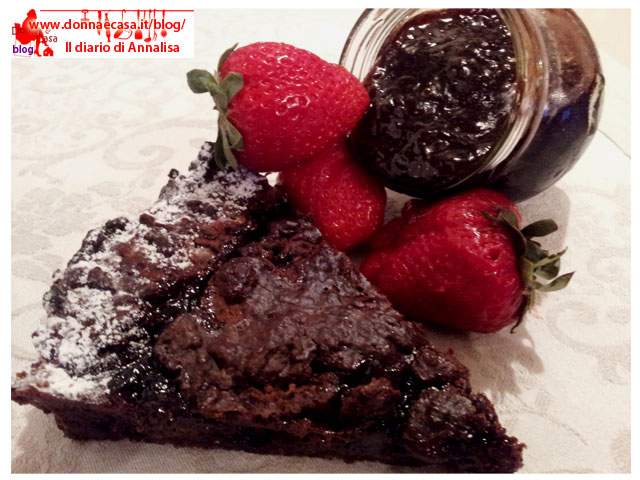 torta ciocco fragola