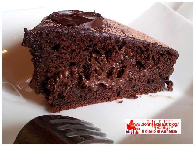 torta cioccolosa al caffè