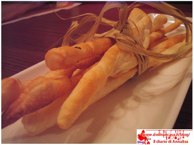 Breadsticks puff pastry