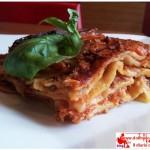 Classic Lasagna with homemade pasta