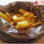 Sticks of Polenta Fried