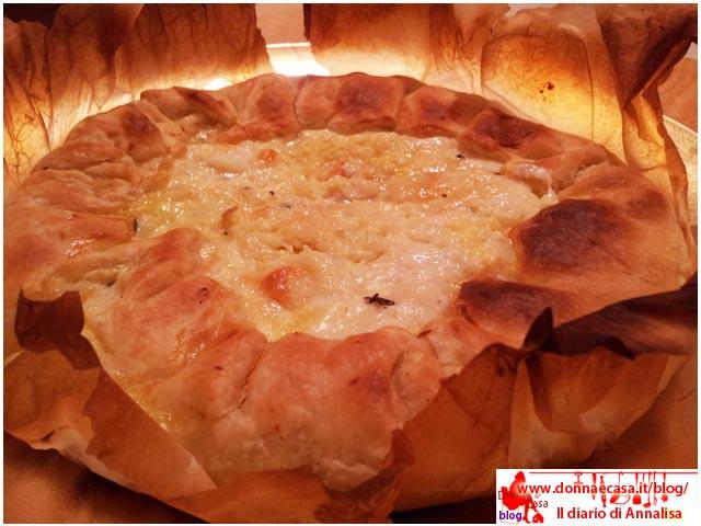 Cauliflower quiche