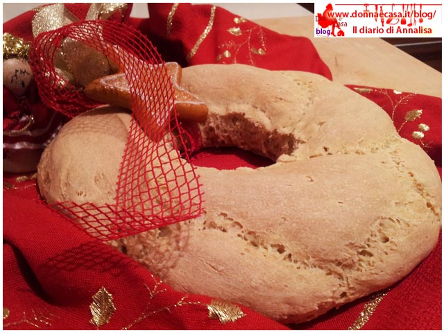 ghirlanda di pane