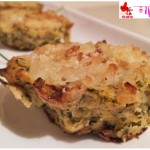 Vegetable pies baked with rice