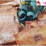 Pancake of mardis gras fried or baked
