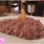 Risotto with amarone valpolicella