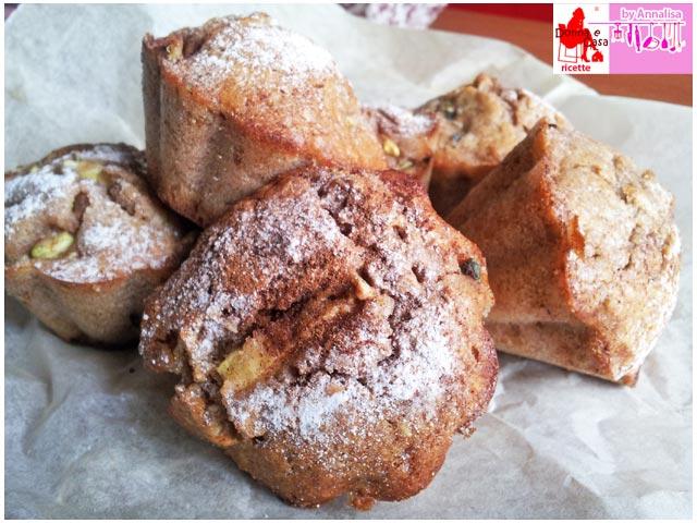 Sweet Muffin with zucchini