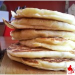 Pancakes with Kamut flour