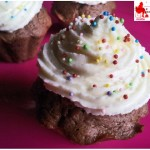 Cupcakes with philadelphia frosting