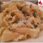 Tuscan pasta with arugula