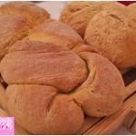 Pane allo zafferano con licoli