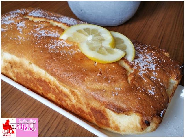 plumcake al limone farina di riso