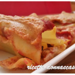 Cannelloni with eggplant