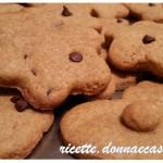 Biscotti farro e Kamut al caffe' e gocce di cioccolato