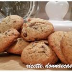Biscotti di Frolla morbida con grano saraceno e gocce di cioccolato