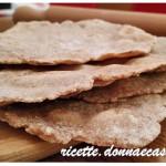 Pane senza lievito con farina di farro