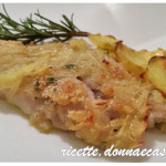 Filetto di cernia in crosta di patate