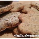 Biscotti di grano saraceno e yogurt