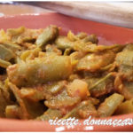 Baccelli di fave in umido – Vegan recipe