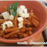 Pasta di lenticchie con sugo di melanzane – gluten free
