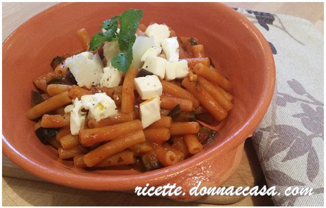penne farina lenticchie alla parmigiana