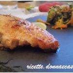 Salmone alla griglia zenzero e lime